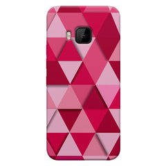 Girly colourful pattern HTC one M9  printed back cover