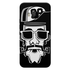 Black Swagger no. 99  HTC one M9  printed back cover