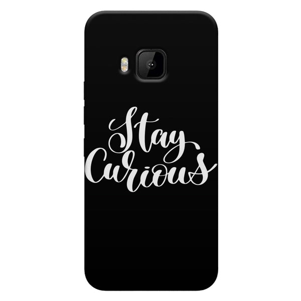 Be curious design HTC one M9  printed back cover
