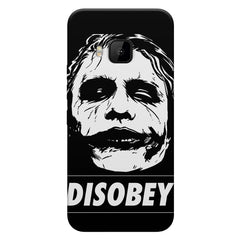 Joker disobey design    HTC one M9 hard plastic printed back cover