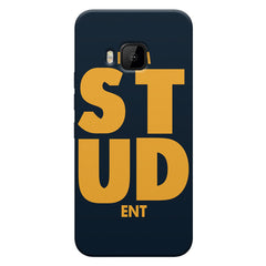 "I am ""STUD"" ENT quote design    HTC one M9 hard plastic printed back cover"