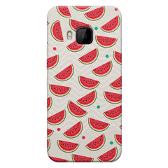 Water melon pattern design    HTC one M9 hard plastic printed back cover