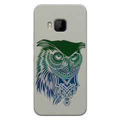 Owl Sketch design,  HTC one M9  printed back cover