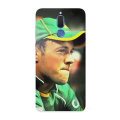 AB de Villiers South Africa   Huawei Honor Matte 10 Lite hard plastic all side printed back cover.