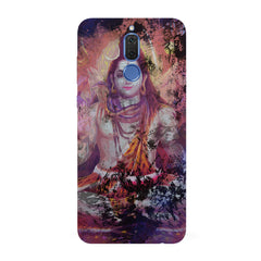 Shiva painted design  Huawei Honor Matte 10 Lite hard plastic all side printed back cover.