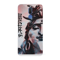 Shiva face    Huawei Honor Matte 10 Lite hard plastic all side printed back cover.