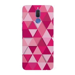 Girly colourful pattern  Huawei Honor Matte 10 Lite hard plastic all side printed back cover.