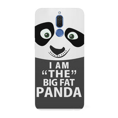 I am the big fat Panda  design,   Huawei Honor Matte 10 Lite hard plastic all side printed back cover.