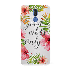 Good vibes only   design,   Huawei Honor Matte 10 Lite hard plastic all side printed back cover.