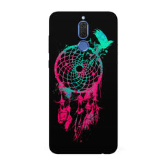 Good luck Pigeon sketch design all side printed hard back cover by Motivate box Huawei Honor Matte 10 Lite hard plastic all side printed back cover.