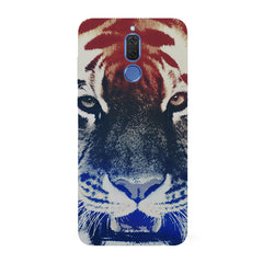 Pixel Tiger Design Huawei Honor Matte 10 Lite hard plastic all side printed back cover.
