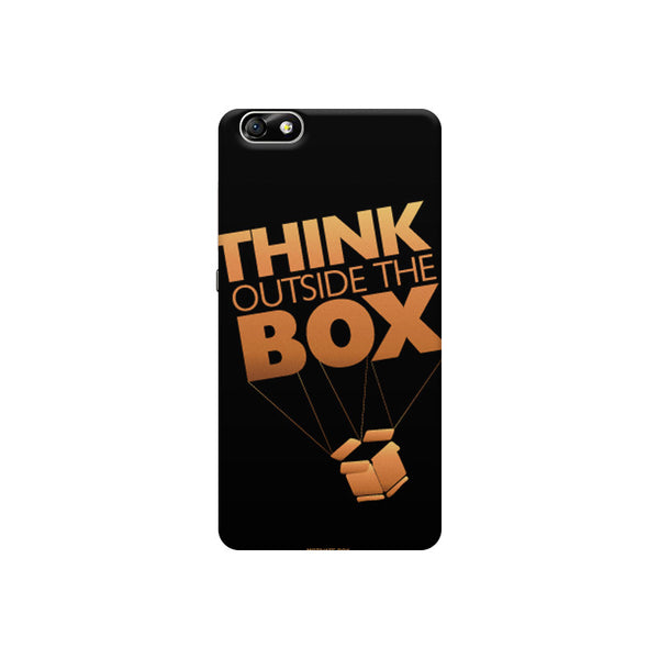 Think Outside the box- entrepreneur lines Huwaei Honor 4X printed back cover