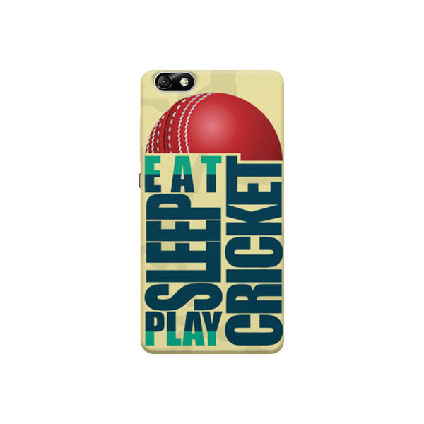 Eat Sleep Play Cricket For Cricket Fans Huwaei Honor 4X printed back cover