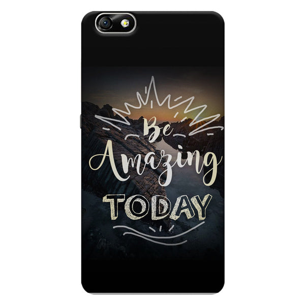 Be amazing today Huwaei Honor 4X printed back cover