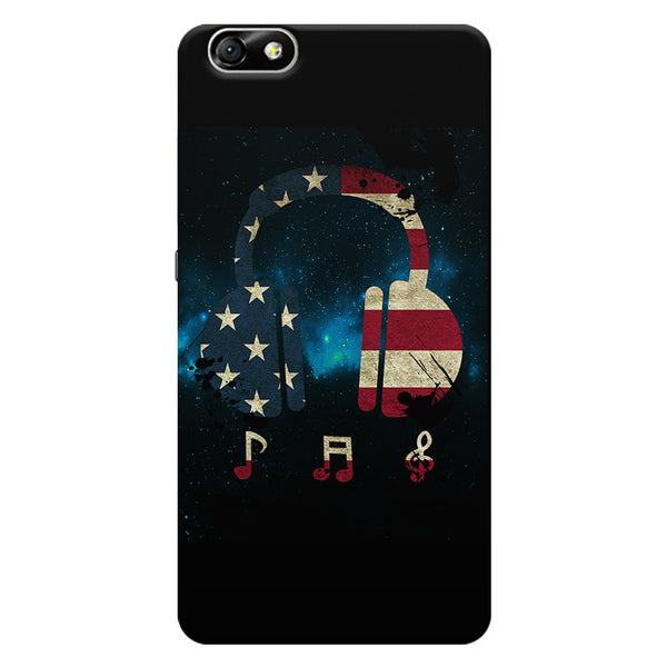 America Tunes Huwaei Honor 4X printed back cover