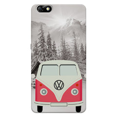 Volkswagen Pink Van  Huwaei Honor 4X printed back cover