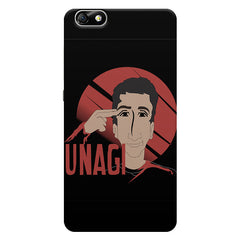 FRIENDS Ross Unagi Black & White  Huwaei Honor 4X printed back cover