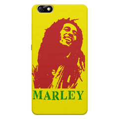 Bob Marley Abstract Red Art Huwaei Honor 4X printed back cover