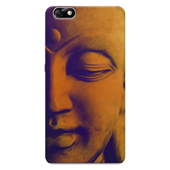 Peaceful Serene Lord Buddha Huwaei Honor 4X printed back cover