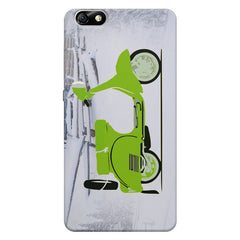 Green Scooter Cool Minimalist Art Huwaei Honor 4X printed back cover