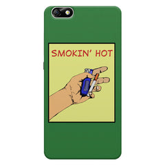 Smokin' Hot Cool Smokers Quotes Huwaei Honor 4X printed back cover