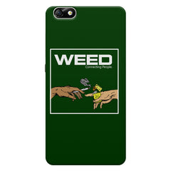 Weed Connecting People  Huwaei Honor 4X printed back cover