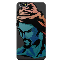 Shiva angry face Huwaei Honor 4X printed back cover