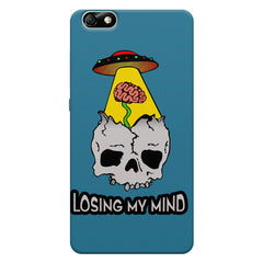 Losing My Mind Funky Huwaei Honor 4X printed back cover