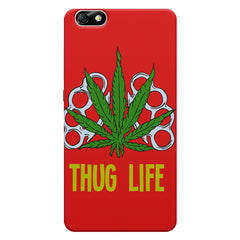 Thug Life Cool Ganja Art Huwaei Honor 4X printed back cover