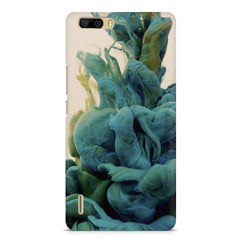 Coloured smoke design    Huwaei Honor 6 plus hard plastic printed back cover