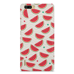 Water melon pattern design    Huwaei Honor 6 plus hard plastic printed back cover