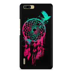 Good luck Pigeon sketch design    Huwaei Honor 6 plus hard plastic printed back cover