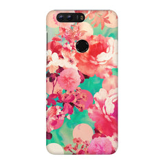Floral  design,  Huawei Honor 8 Pro  printed back cover