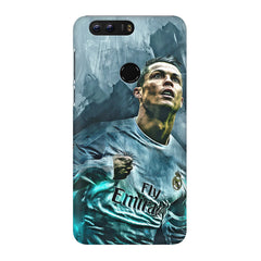 Oil painted ronaldo  design,  Huawei Honor 8 Pro  printed back cover