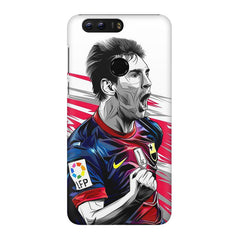 Messi illustration design,  Huawei Honor 8 Pro  printed back cover