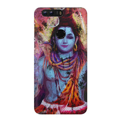Shiva painted design Huawei Honor 8 Pro  printed back cover