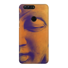 Peaceful Serene Lord Buddha Huawei Honor 8 Pro  printed back cover
