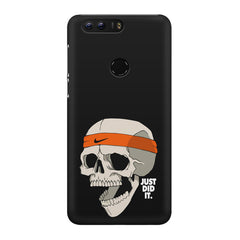 Skull Funny Just Did It !  design,  Huawei Honor 8 Pro  printed back cover