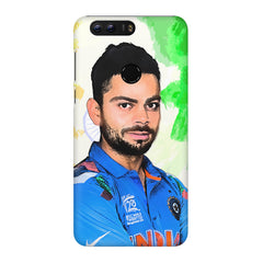 Virat Kohli Oil Painting India design,  Huawei Honor 8 Pro  printed back cover