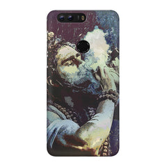Smoking weed design Huawei Honor 8 Pro  printed back cover