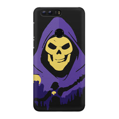 Evil looking skull design Huawei Honor 8 Pro  printed back cover