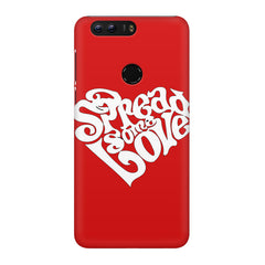 Spread some love design Huawei Honor 8 Pro  printed back cover