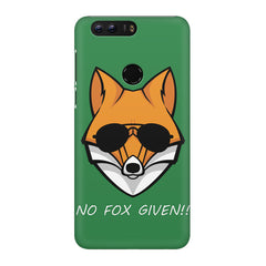 No fox given design Huawei Honor 8 Pro  printed back cover