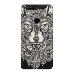 Fox illustration design Huawei Honor 8 Pro  printed back cover