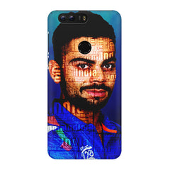 Virat Kohli India inscribed design Huawei Honor 8 all side printed hard back cover by Motivate box Huawei Honor 8 hard plastic printed back cover.
