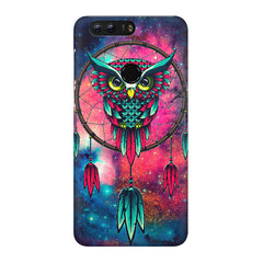 Good luck Owl sketch design Huawei Honor 8 all side printed hard back cover by Motivate box Huawei Honor 8 hard plastic printed back cover.