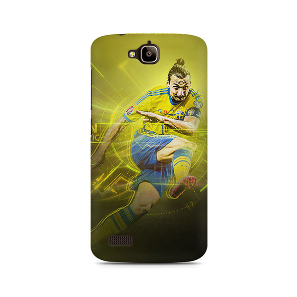 Ibrahamovic Football Huwaei Honor Holly printed back cover