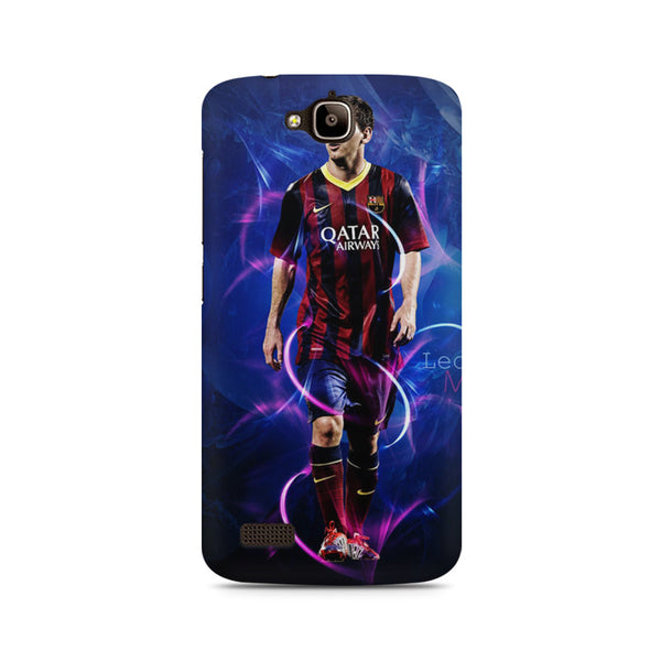 Leo Messi LM10 Barca Huwaei Honor Holly printed back cover