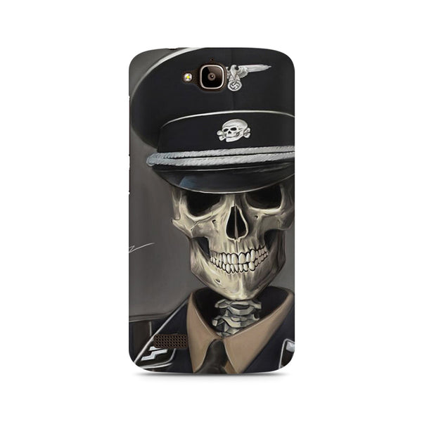 Captain Skull Army Huwaei Honor Holly printed back cover