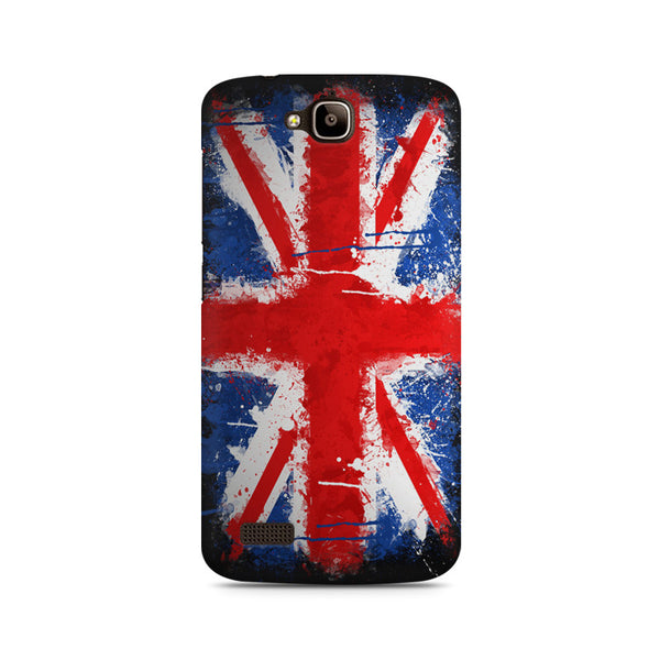 Britain Painted Flag Huwaei Honor Holly printed back cover